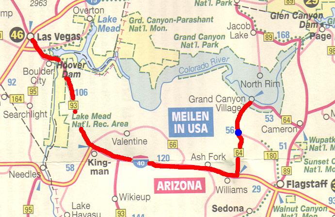 Stadtplan Las Vegas Nevada : Weltkartecom - Karten